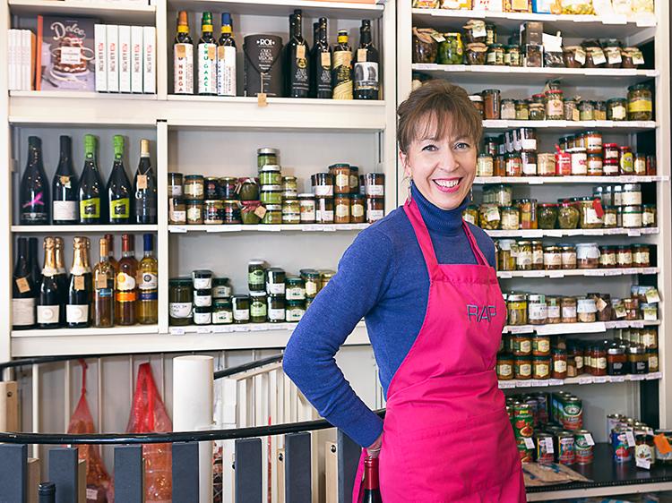 Alessandra Pierini, fondatrice de l'épicerie RAP