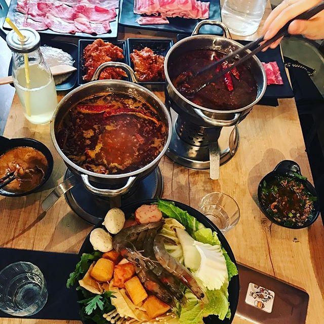 fondue asiatique chez Fondue Factory