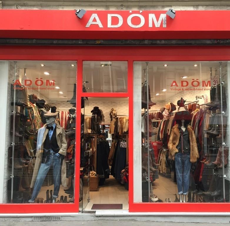 Adom, friperie à Bastille