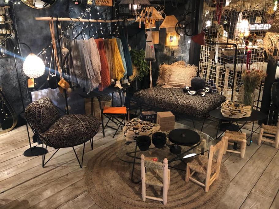 La boutique Mona Market à Paris