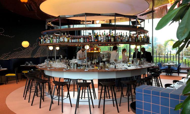 La nouvelle brasserie Octopus située à la Défense