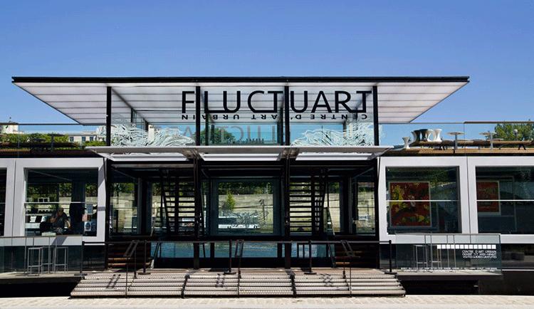 L'entrée de Fluctuart