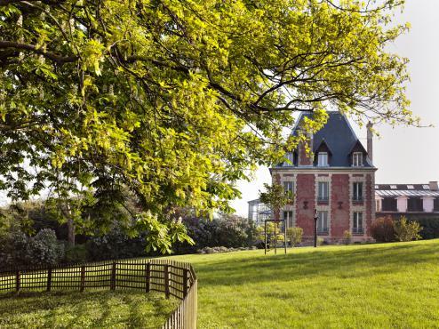 Jardin de la demeure de Rodin